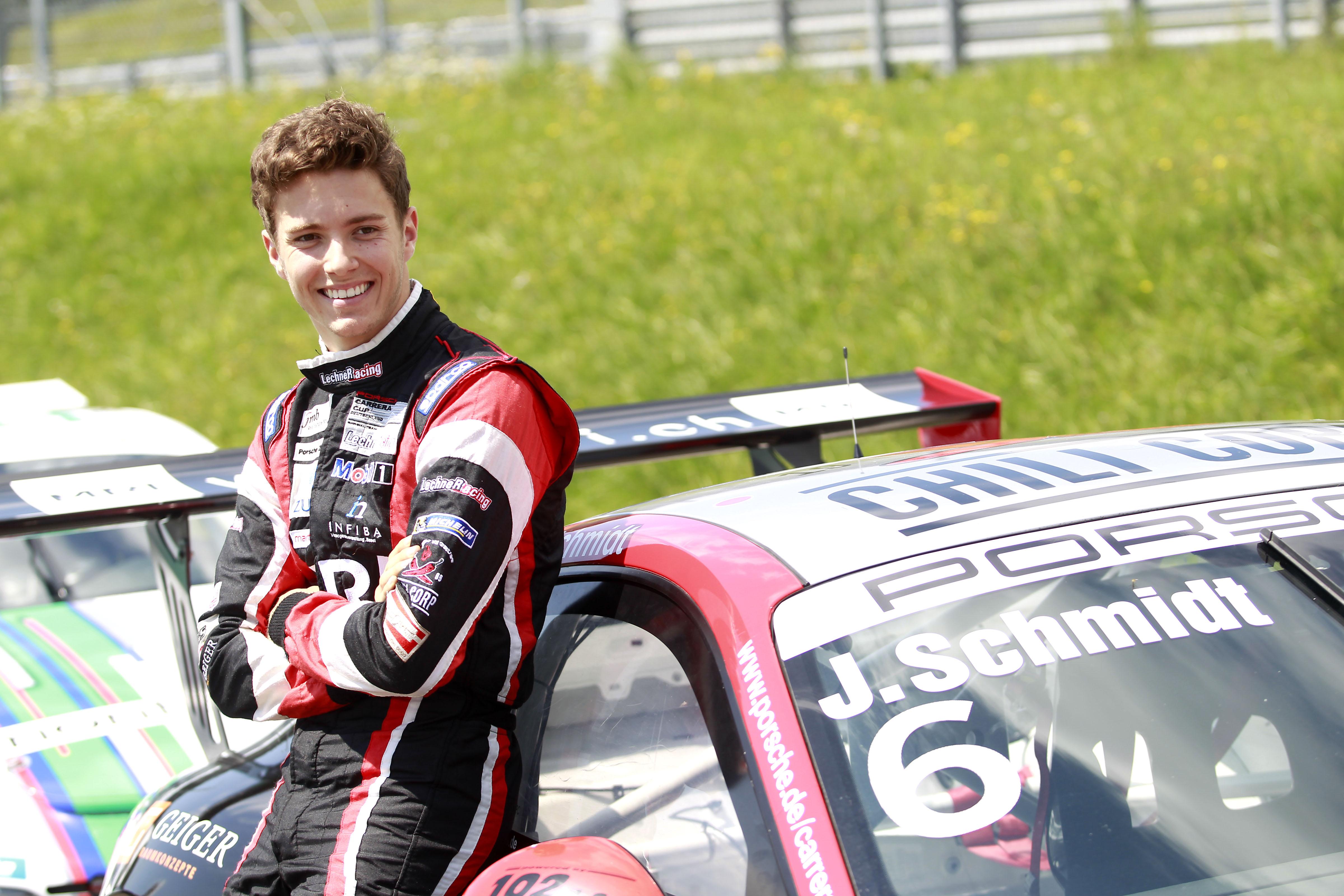 Jeffrey Schmidt – Porsche Carrera Cup Deutschland ...