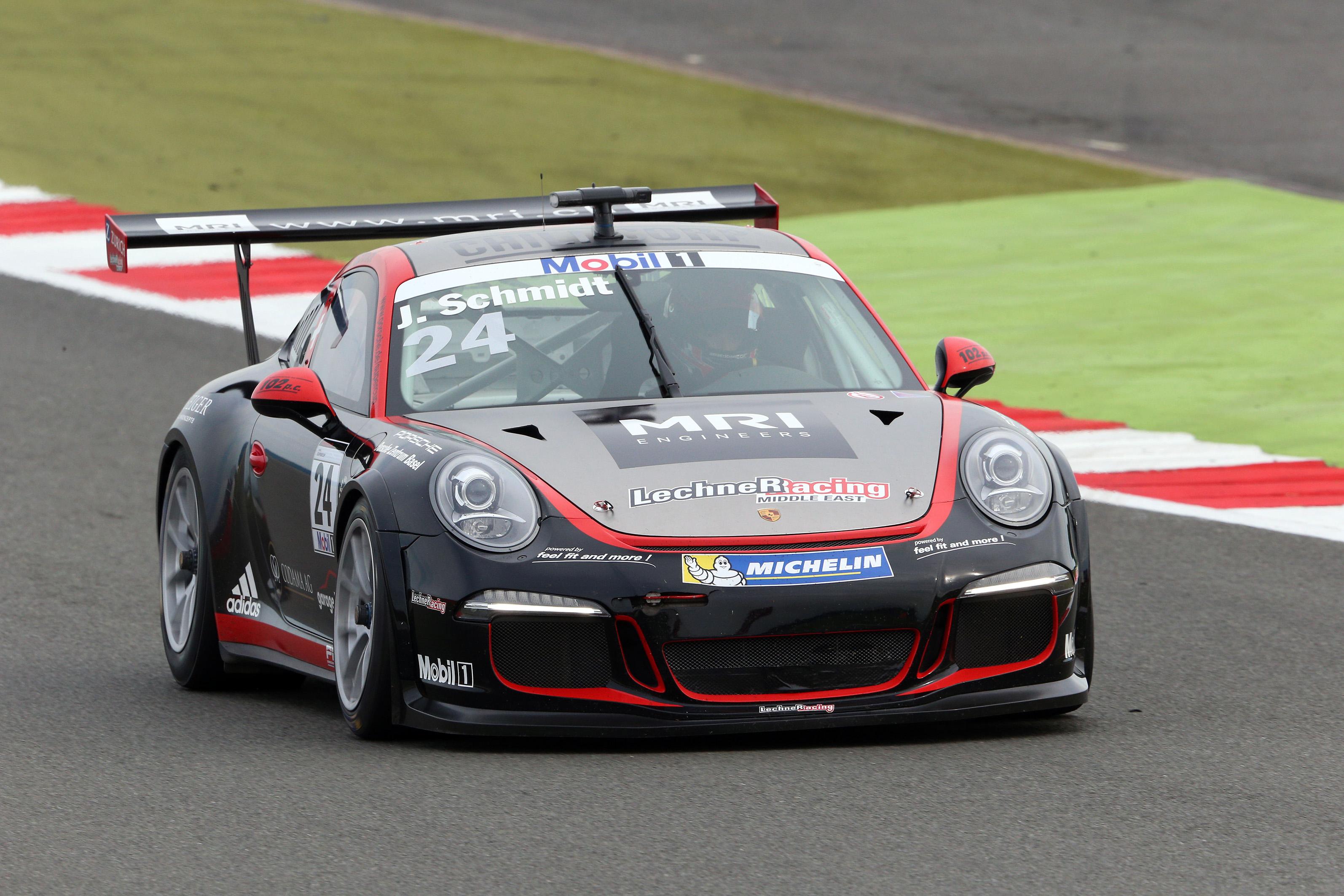 Jeffrey Schmidt Porsche Supercup Great Britain Jeffrey